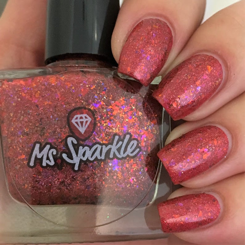 Ms. Sparkle- Flakies All Over the Place- To Flake or Not to Flake