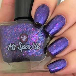 Ms. Sparkle- Flakies All Over the Place- Fancy Flakies