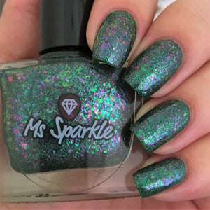 Ms. Sparkle- Flakies All Over the Place- Up in Flakes
