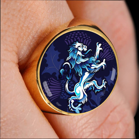 Rampant Lion - Scotland Ring | Accessories | Love Scotland
