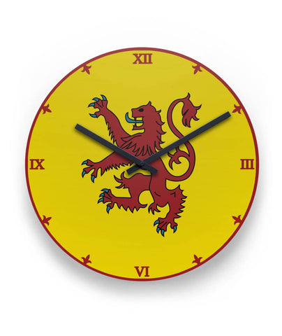 Scotland Wall Clock - Coat Of Arms | Special Custom Design