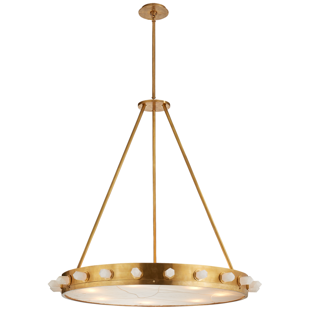Halcyon Large Chandelier by Visual Comfort