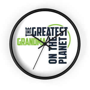 Wall clock - Grandma