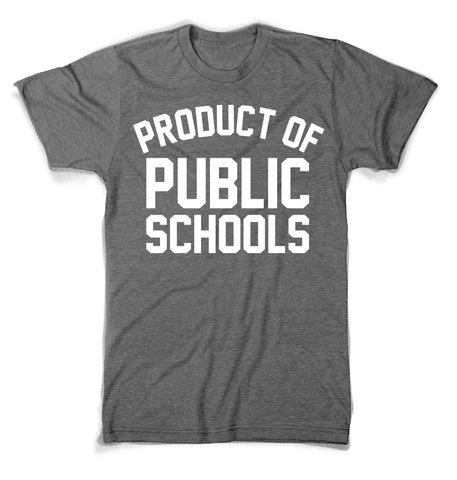 Product of Public Schools - Large Logo | Unisex - Green