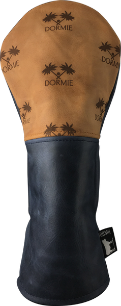 Dormie Workshop Dormie Palm Print Leather Golf Headcover