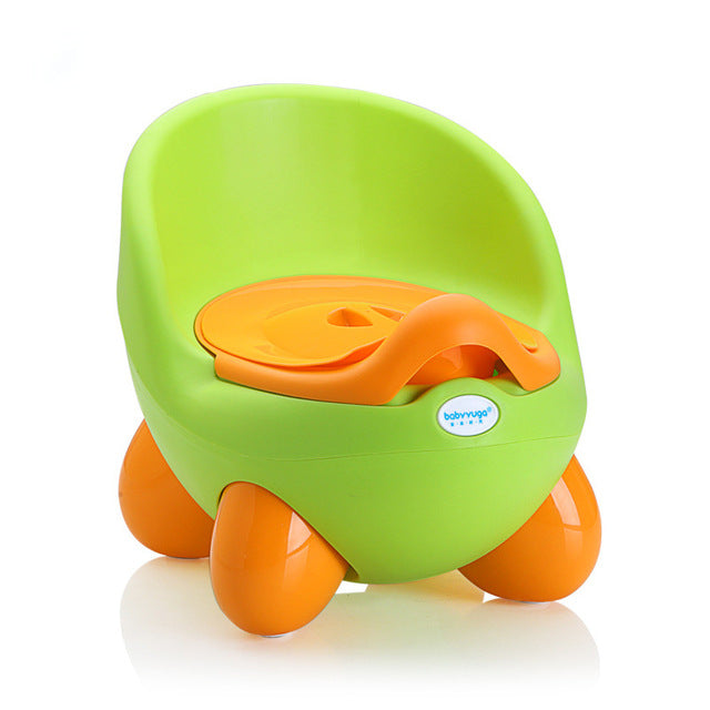 Baby Potty Cute Cartoon Children's Pot Toilet Plastic Training Boy Girls Child Toilet Seat Portable Children's Potty Baby Toilet
