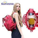 Sunveno Fashion Baby Bag Brand Stroller Bag Maternity Diaper Bag Large Capacity Travel Backpack For Mommy Bolsa Maternidade