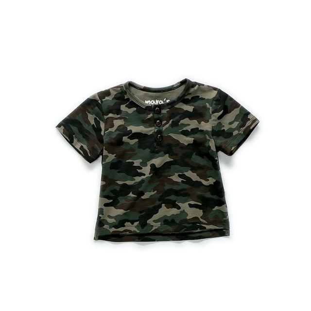 Mayas Camouflage Summer Children Tops Girls Dots Printed Fashion Tees Cotton Family Clothing Matching Shirts Free Shipping 81125