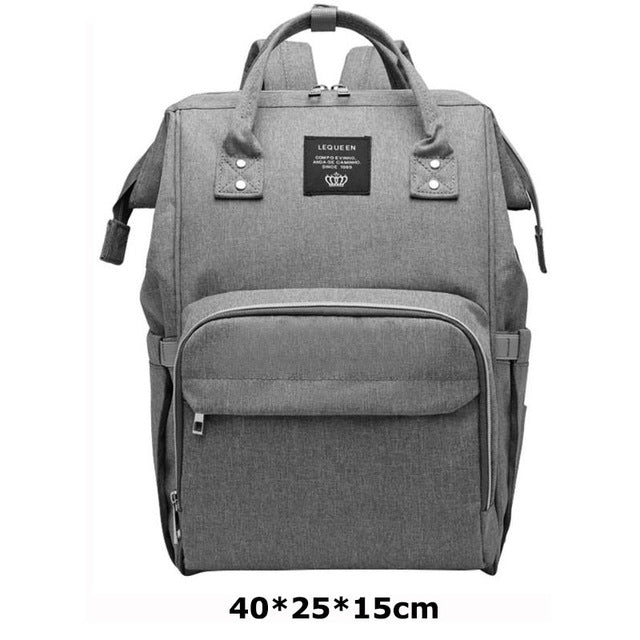 Brand Designer Fashion Mummy Maternity Nappy Bag Large Capacity Baby Diaper Bag Travel Backpack Nursing Bag for Baby Care