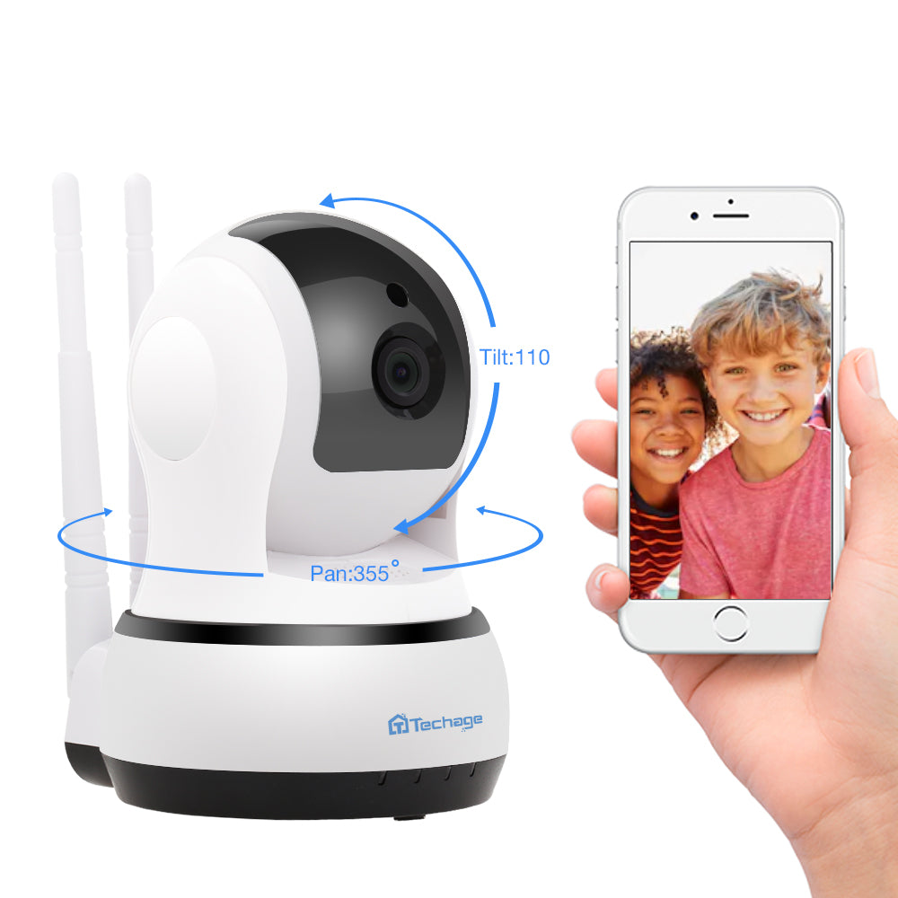 Techage Yoosee 1080P 720P Wireless IP Camera Home Security CCTV Wifi Two-Way Audio Surveillance Baby Monitor Night Vision Camera