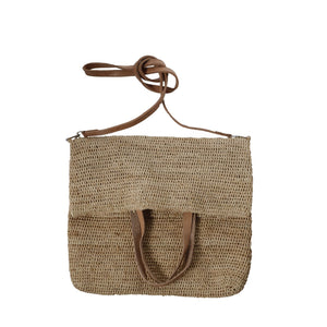 Emilie Tote/Crossbody Bag in Tea