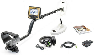 Makro Gold Kruzer Waterproof Metal Detector + 2 Coils + Wireless Headphones + Nokta Waterproof Pointer + Baseball Cap + Digger