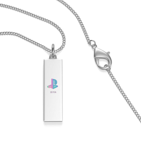 Pastel Station Single Loop Necklace