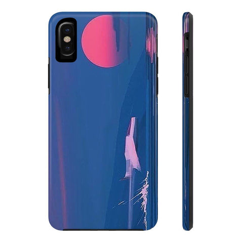 """Blood Sunset"" Case Mate Tough Phone Cases"