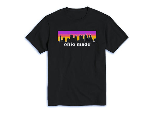 Ohio Made Pink Sunset Tee (More Colors Available)