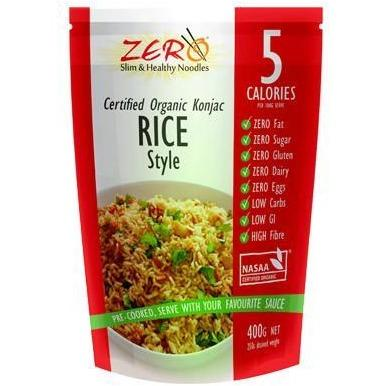 Rice - Certified Organic Konjac by ZERO 400g