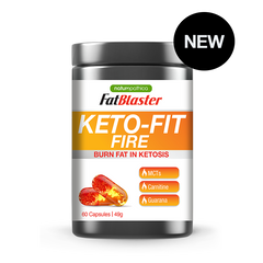 Keto Fit Fire - Naturopathica - 60 Caps