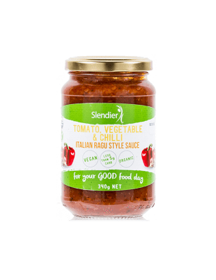 Keto Pasta Sauce - Tomato Vegetable & Chilli - 340g