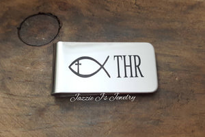 Handwritten Money Clip-JazzieJ'sJewelry