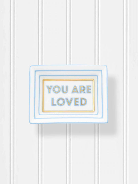 You Are Loved Mini Trinket Tray