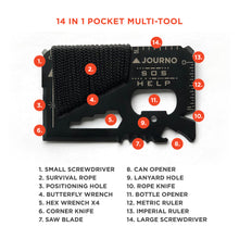 Old Faithful - Our 14-In-1 Pocket Survival Tool, Perfect For Any Traveler.