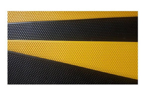 20x Plastic Foundation Sheets - Black or Yellow