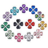"13 COLORS JEWELED 3"" METAL PRINCESS PLUG  419Positive"