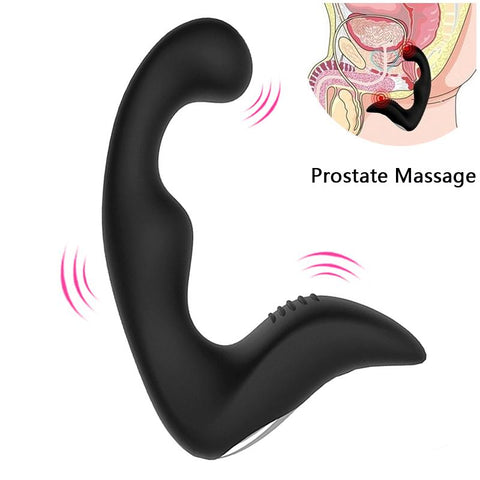 "5"" USB-RECHARGEABLE SILICONE PROSTATE MASSAGER  419Positive"