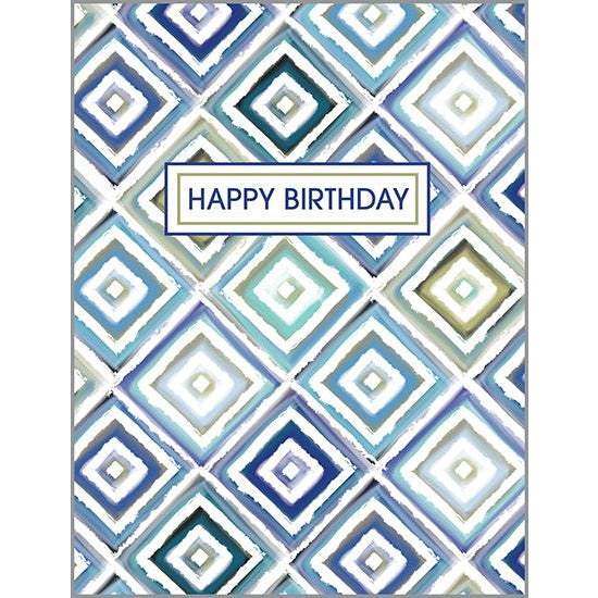 {with scripture} Birthday Card - Diamond Weave