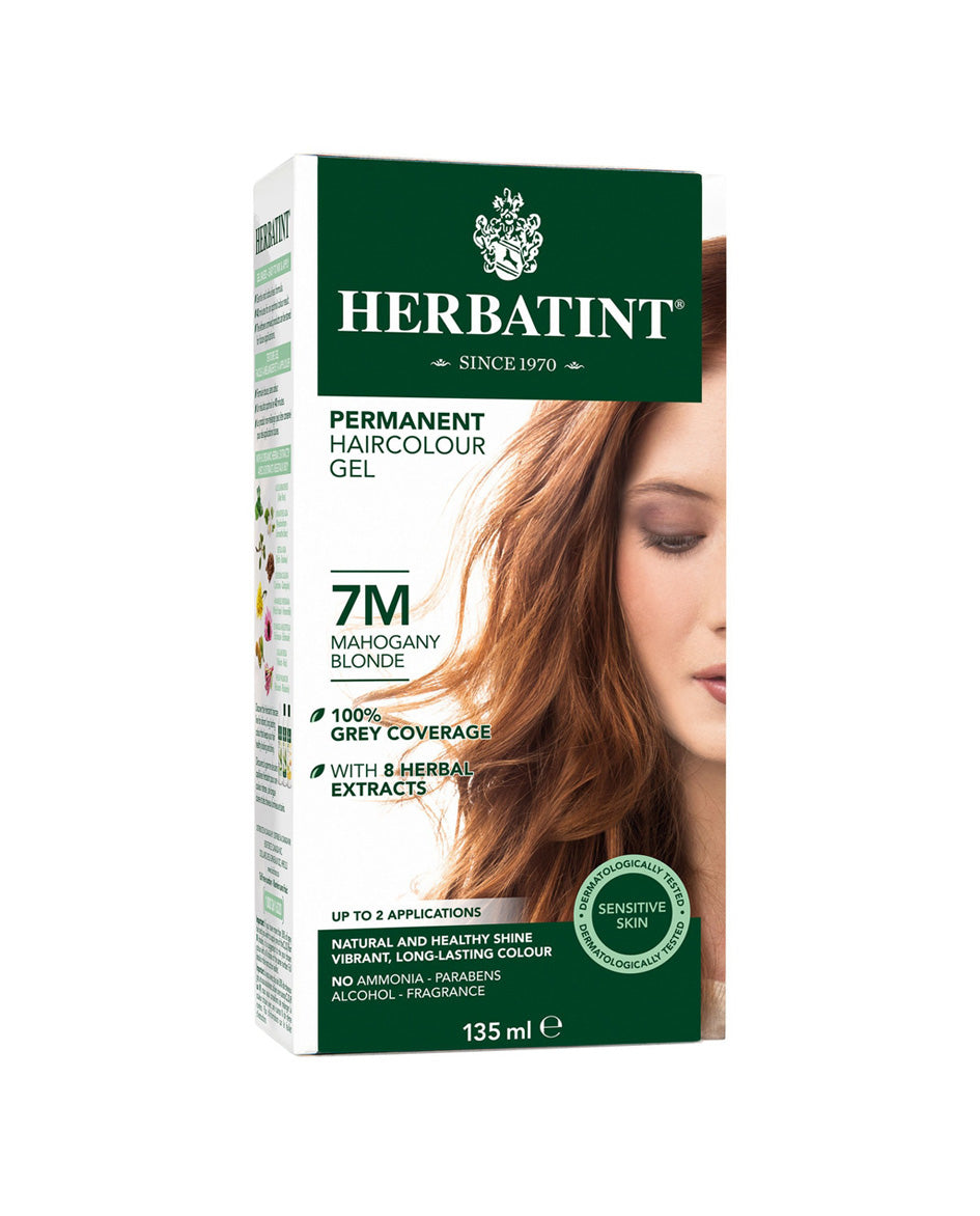 Herbatint permanent haircolor gel 7M Mahogany Blonde 135ml