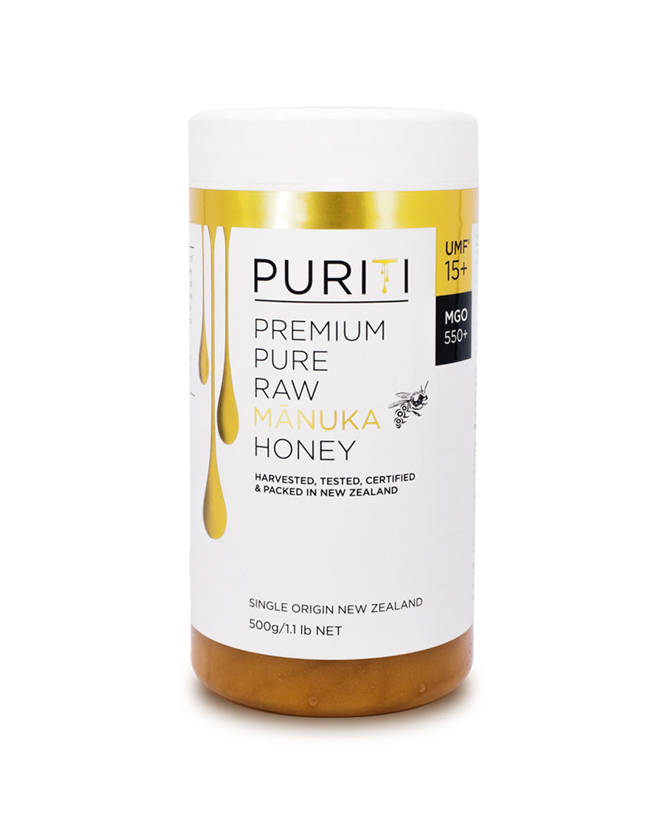 Puriti Manuka Honey UMF 15+ 500g