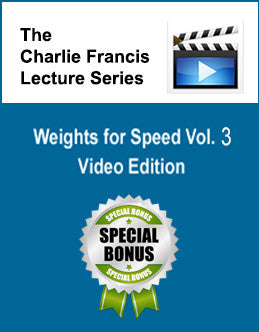 Weights for Speed Part 3 - CF Lectures Series