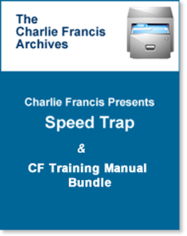 Speed Trap & CF Training Manual Bundle