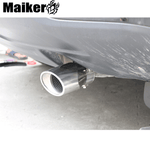 off road Muffler Tip Muffler Pipe for Jeep compass MK 2011+ Exhaust Tip for jeep accessories