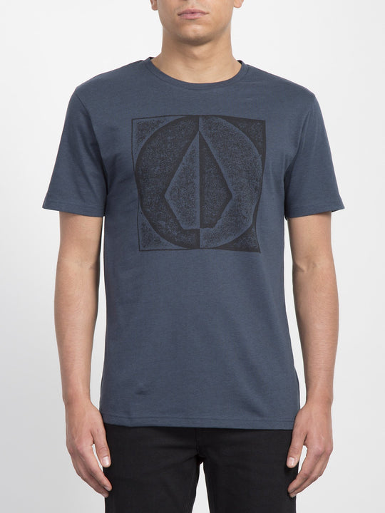 Camiseta Stamp Divide - Indigo
