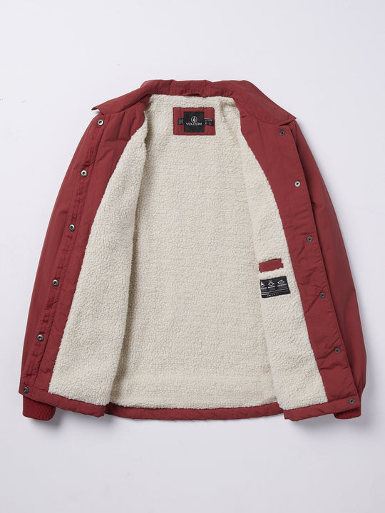 Coach Up Sherpa Jacket - Auburn (B1531964_AUB) [10]