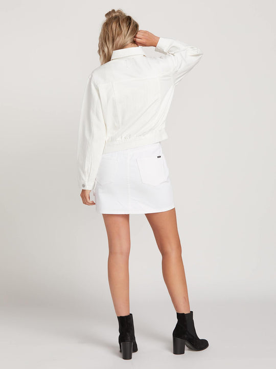 Chaqueta vaquera Fix It - White