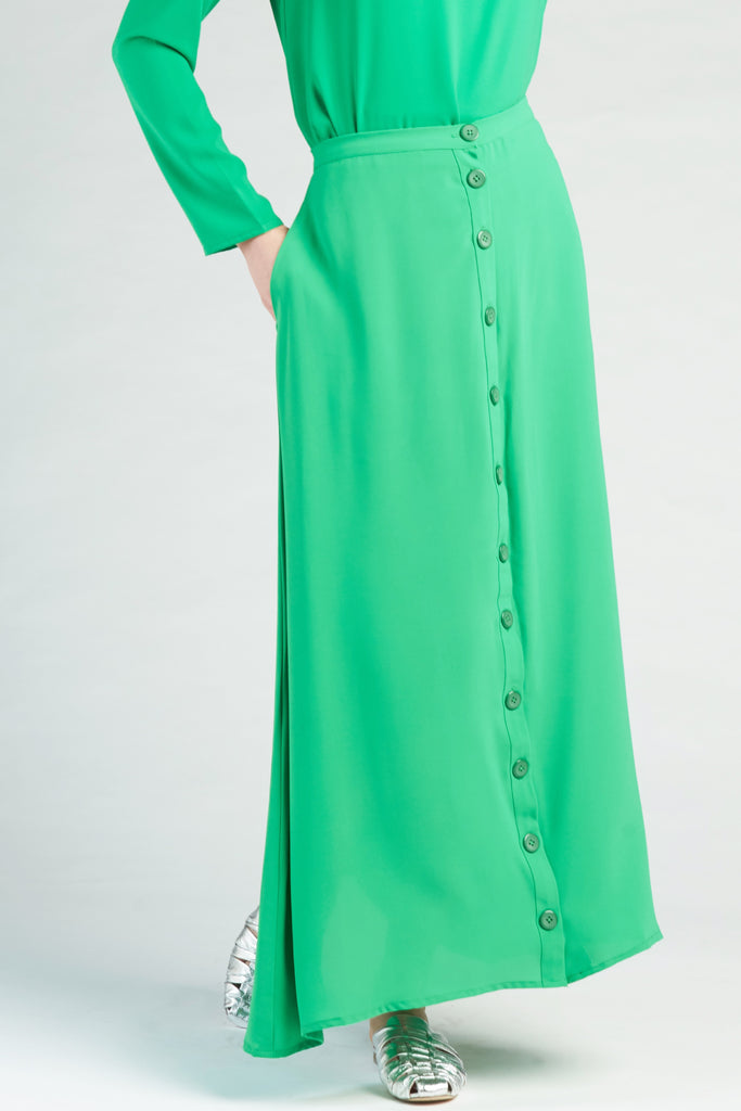 Ray Classic Skirt - Emerald