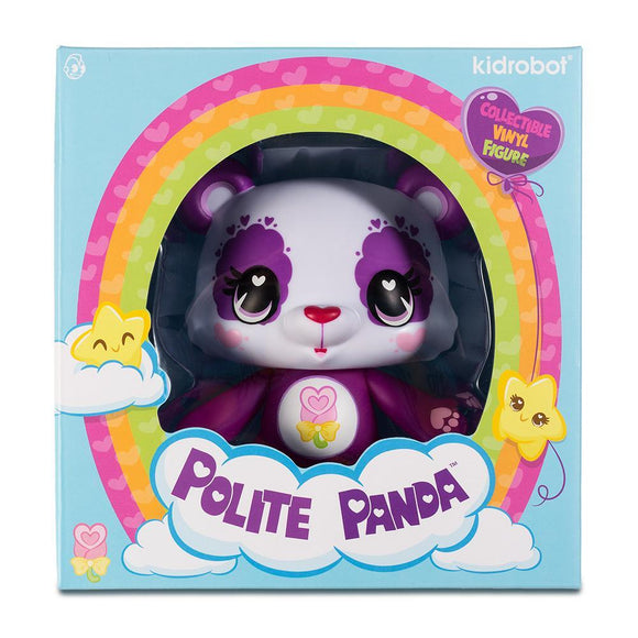 Care Bears Polite Panda Bear Art Figure by Linda Panda