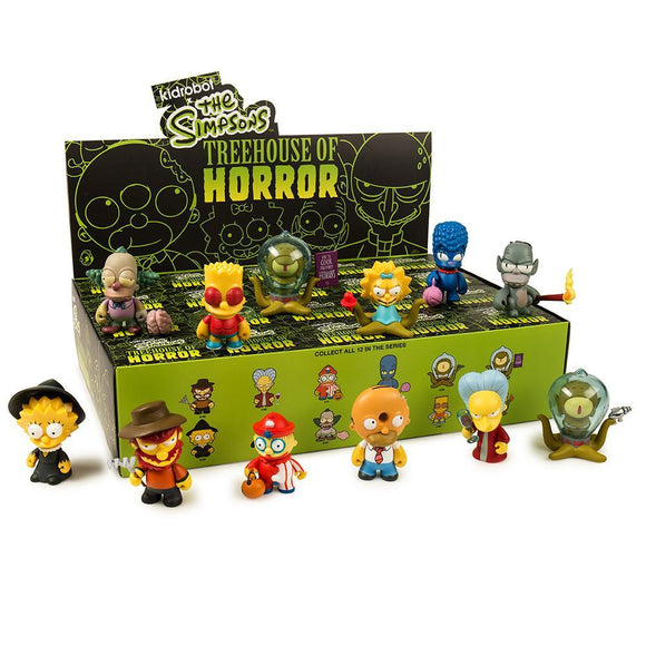 Simpsons Treehouse of Horror Mini Figure Series by Kidrobot FULL CASE