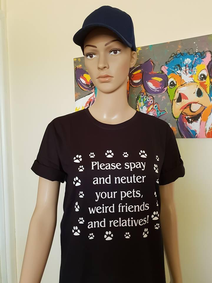 BPC T-Shirt - Please Spay and Neuter Your Pets ......