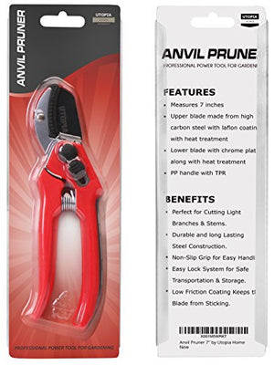 Anvil Pruner 7 Inches Stainless Steel Blade - AsitiGift