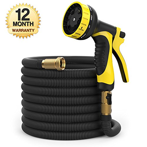 100ft  Expandable Garden Hose  Heavy Duty Flexible Hose - AsitiGift