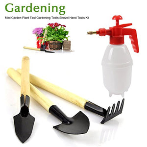 3Pcs Stainless Spade Shovels Rakes Gardening Gifts with Sprayer - AsitiGift