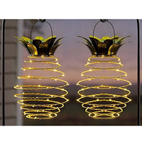 Pineapple Solar Lights Solar Powered Garden Lights - AsitiGift