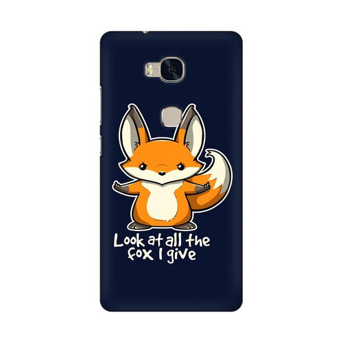 Fox Given Multicolour Phone Case For Huawei Honor 5X