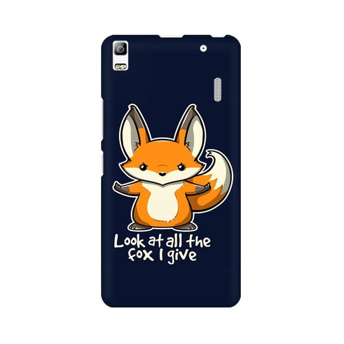 Fox Given Multicolour Phone Case For Lenovo K3 Note