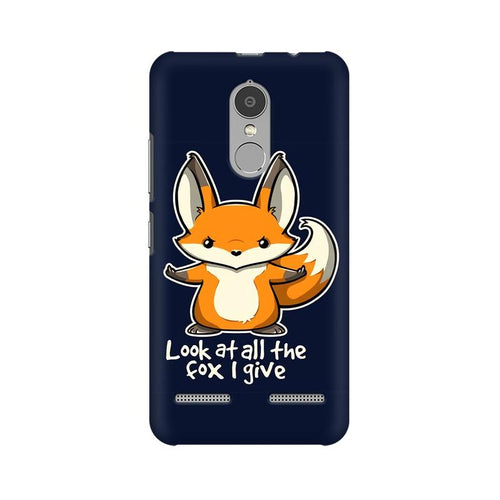 Fox Given Multicolour Phone Case For Lenovo Vibe K6