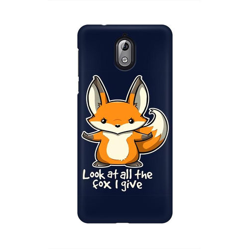 Fox Given Multicolour Case For Nokia 3 point 1