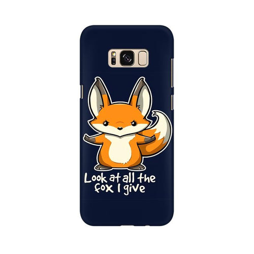 Fox Given Multicolour Case For  Samsung S8 Plus